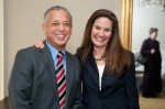 Mayor Segarra and Sheryl Hack, Executive Director of CT Landmarks