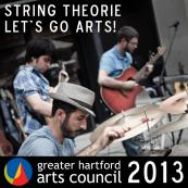 "String Theorie's Exclusive EP: ""Let's GO Arts!"""
