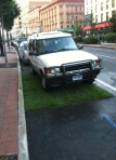 Land Rover has an interesting take on PARK(ing) Day