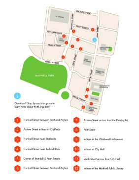 Parking Day 2014 Map