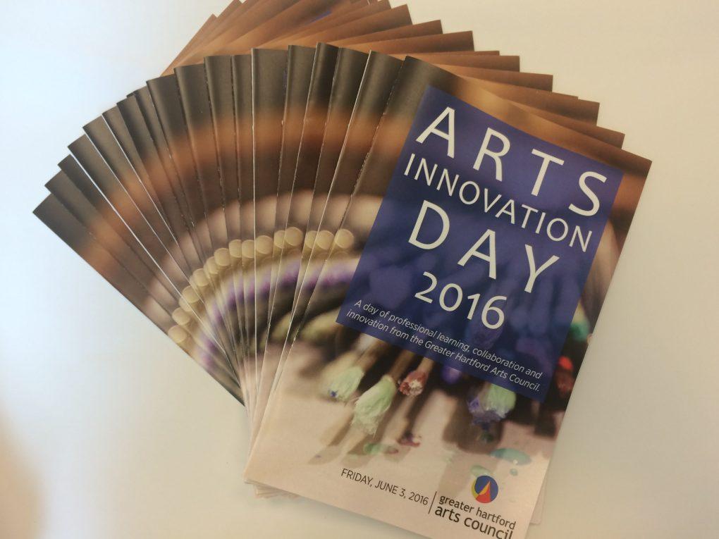 Arts Innovation Day 2016