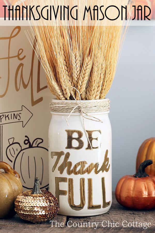 Fall Mason Jar DIYs